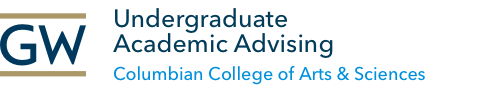 GW Undergraduate Advising | Columbian College of Arts & Sciences